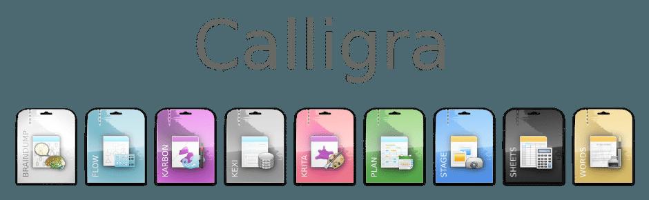 Calligra Suite (Office Paket)